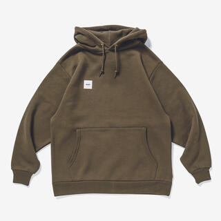 W)taps - 20AW★HOME BASE / HOODED / COTTON★L★OLIVE