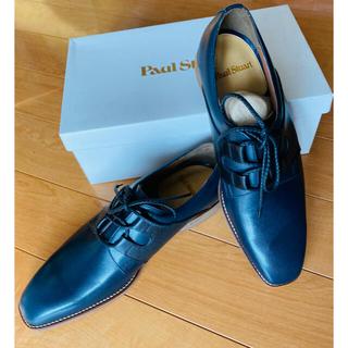ポールスチュアート(Paul Stuart)のPaul Stuart ポールスチュアート 本革サドルシューズ ネイビー×黒新品(ドレス/ビジネス)