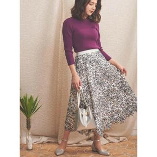 ノエラ(Noela)の完売 2020 Noelaノエラ ボタニカル刺繍レーススカート(ロングスカート)