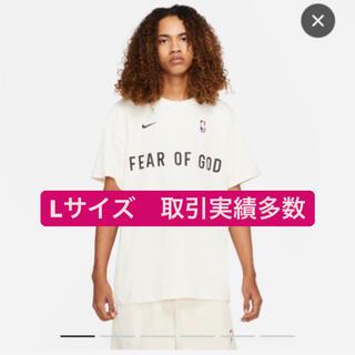 ナイキ(NIKE)のNike fear of god tシャツ ナイキ 白 Lサイズ white(Tシャツ/カットソー(半袖/袖なし))