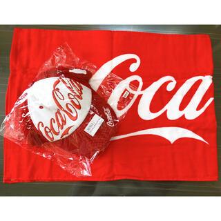 コカコーラ(コカ・コーラ)の非売品!コカ・コーラ帽子・スポーツタオル豪華セット(キャップ)