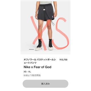 フィアオブゴッド(FEAR OF GOD)の定価 白&黒セットNike Fear of God fog ショートパンツ XS(ショートパンツ)