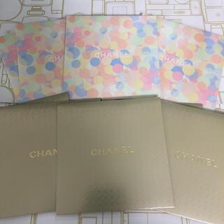 シャネル(CHANEL)のお得10枚set❤︎CHANEL メッセージカード ゴールド&パステル(カード/レター/ラッピング)