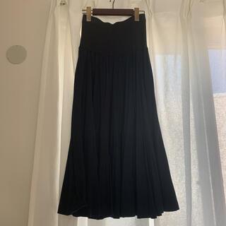 サンローラン(Saint Laurent)の美品イヴサンローラン スカート(ひざ丈スカート)