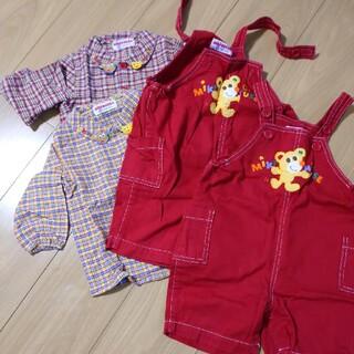 ミキハウス(mikihouse)のMIKI HOUSEサイズ90双子ちゃんセット(Tシャツ/カットソー)