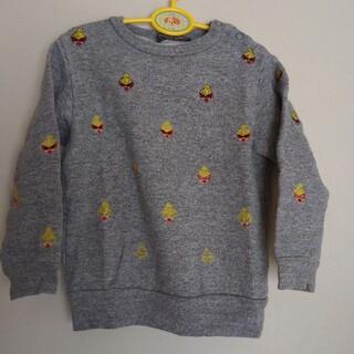 ヒステリックミニ(HYSTERIC MINI)の刺繍トレーナー (Tシャツ/カットソー)