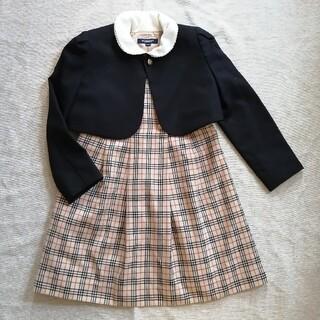 バーバリー(BURBERRY)のバーバリー BURBERRY フォーマルスーツ 入学式 女の子 フォーマル(ドレス/フォーマル)