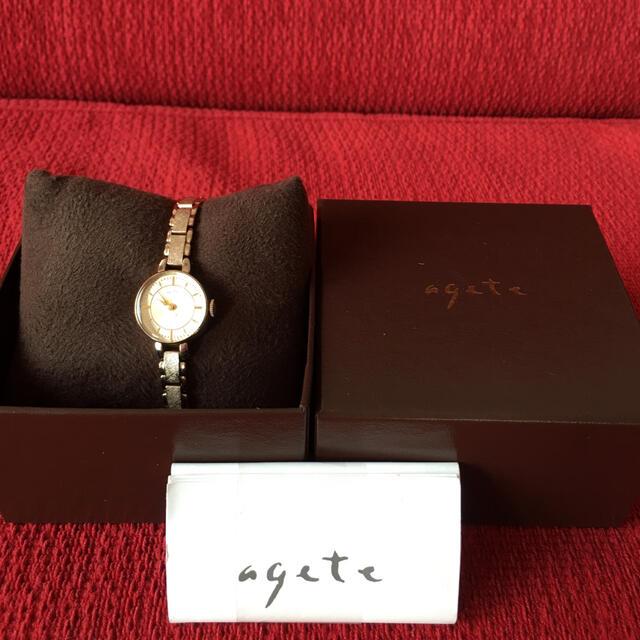 agete(アガット)のagete腕時計 レディースのファッション小物(腕時計)の商品写真
