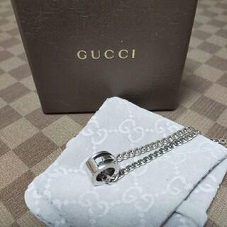 Gucci - GUCCIネックレス グッチカットアウトGリングネックレス