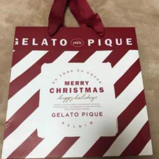 ジェラートピケ(gelato pique)のジェラートピケ クリスマス 紙袋(ショップ袋)
