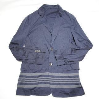 トゥモローランド(TOMORROWLAND)の☆TOMORROWLAND☆ネイビーのジャケット♪メンズXLサイズ(テーラードジャケット)