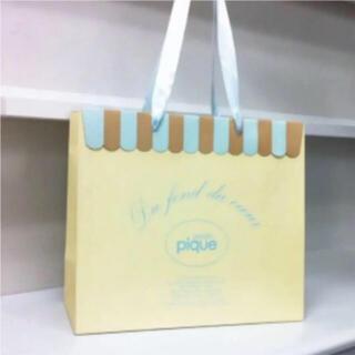 ジェラートピケ(gelato pique)のgelato piqué 紙袋(ショップ袋)