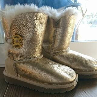 アグ(UGG)のUGGキッズブーツ15㎝おしゃれ冬靴KEENムートンアグnorthface(ブーツ)