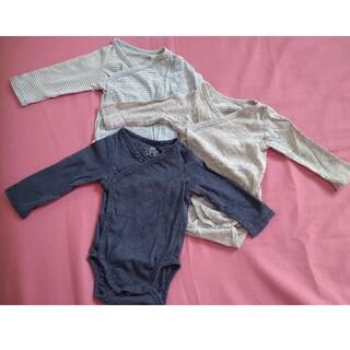エイチアンドエム(H&M)のH&M ボディスーツ 60cm 3枚セット(肌着/下着)