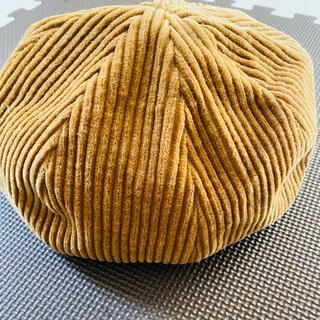 ビームス(BEAMS)のベレー帽 コーデュロイ(ハンチング/ベレー帽)