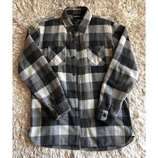 ネイバーフッド(NEIGHBORHOOD)のneighborhood ネルシャツ Sサイズ 黒×灰 ネイバーフッド (シャツ)