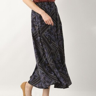 LEPSIM - スカーフ柄スカート