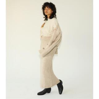 シールームリン(SeaRoomlynn)のroom様専用ウールニットロングスカート シールームリン room306(ロングスカート)