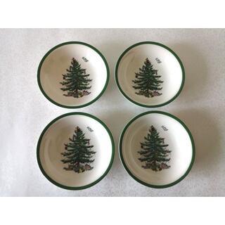 新品☆スポード クリスマスツリー シリアルボール/スープ皿4枚セット(食器)