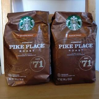 Starbucks Coffee - コストコ スターバックスコーヒー コーヒー粉 2個