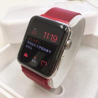 アップルウォッチ(Apple Watch)のApple Watch Series2 42mm ステンレスモデル(その他)