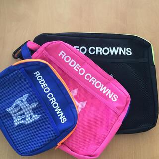 ロデオクラウンズ(RODEO CROWNS)のRODEO CROWNS ポーチ3点セット(ポーチ)