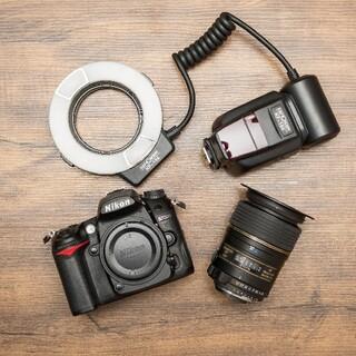 ニコン(Nikon)の口腔内写真カメラセット【Nikonダブルスロット】D7000+マニュアル付(デジタル一眼)