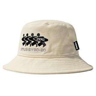 コムデギャルソン(COMME des GARCONS)のCDG × STUSSY CANVAS BUCKET HAT  (X/XL)(ハット)