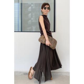 アパルトモンドゥーズィエムクラス(L'Appartement DEUXIEME CLASSE)の新品タグ付きL'Appartement Jersey Gather Skirt (ロングスカート)