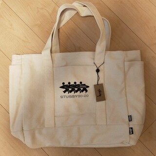 CDG × STUSSY CANVAS TOTE
