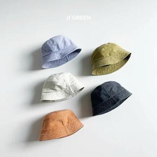ザラキッズ(ZARA KIDS)のバケットハット ホワイト(帽子)