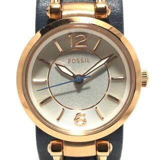 フォッシル(FOSSIL)のフォッシル 腕時計 - ES3857 レディース(腕時計)