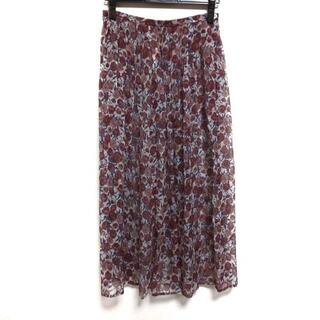 アニエスベー(agnes b.)のアニエスベー ロングスカート サイズ36 S(ロングスカート)