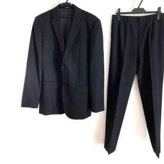 コムサイズム(COMME CA ISM)のコムサイズム シングルスーツ サイズL 黒(セットアップ)