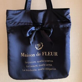 メゾンドフルール(Maison de FLEUR)のMaison de FLEUR リボントートバッグ(トートバッグ)
