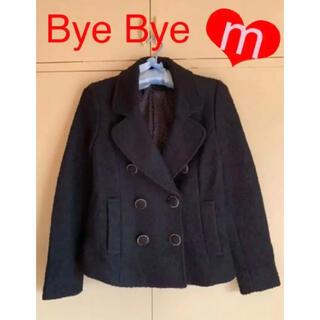 バイバイ(ByeBye)のブラックピーコートレディース Mサイズコート バイバイコート Bye Bye(ピーコート)