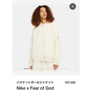フィアオブゴッド(FEAR OF GOD)のNIKE X FEAR OF GOD BASKETBALL JACKET(ブルゾン)