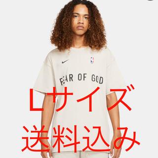 フィアオブゴッド(FEAR OF GOD)のオートミール ウォームアップ Tシャツ(Tシャツ/カットソー(半袖/袖なし))