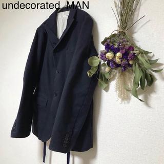 アンデコレイテッドマン(undecorated MAN)の【Undecoreted】 変形ジャケット TO-15(テーラードジャケット)