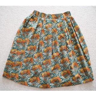 サンタモニカ(Santa Monica)の海外買い付け レトロ スカート(ひざ丈スカート)