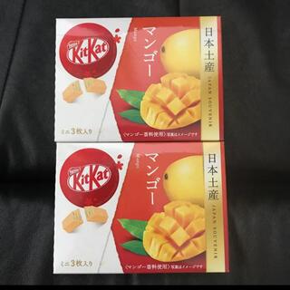 ネスレ(Nestle)のキットカット 日本土産 マンゴー味 2箱セット(菓子/デザート)