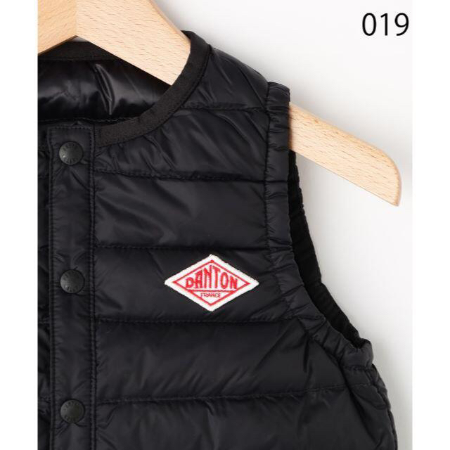 DANTON(ダントン)のDANTON ダントン ダウンベスト 110cm 新品! キッズ/ベビー/マタニティのキッズ服男の子用(90cm~)(ジャケット/上着)の商品写真