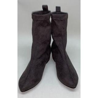 JELLY BEANS - JELLY BEANS ミドルブーツ ブーツ チャコール 23cm M