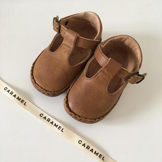 キャラメルベビー&チャイルド(Caramel baby&child )の【rin様ご専用】PePe ベビーシューズ 19 CARAMEL ぺぺ (スニーカー)