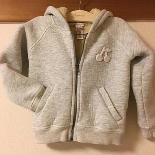 ボンポワン(Bonpoint)の美品 ボンポワン 裏ボワパーカー 6a(ジャケット/上着)