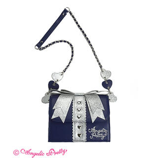 アンジェリックプリティー(Angelic Pretty)のAngelic Pretty Present Ribbonバッグ(ショルダーバッグ)