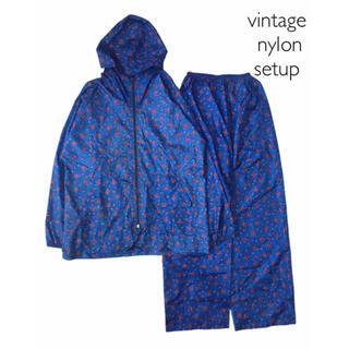 エディットフォールル(EDIT.FOR LULU)のvintage 90's nylon セットアップ シャツ パーカー パンツ(シャツ/ブラウス(長袖/七分))