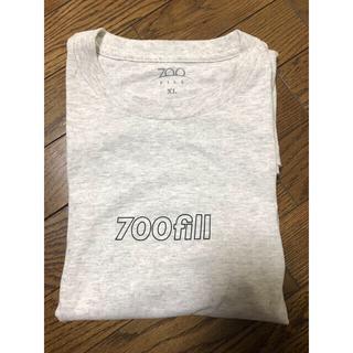 ワンエルディーケーセレクト(1LDK SELECT)の美品 700fill  ロンT サイズXL(Tシャツ/カットソー(七分/長袖))