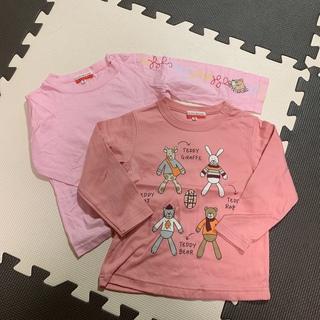 カステルバジャック(CASTELBAJAC)の子供服 カステルバジャック 薄手の長袖 半ズボン 80.90(Tシャツ/カットソー)