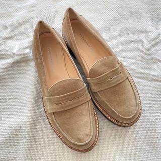 アダムエロぺ(Adam et Rope')のFabio Rusconi スウェードローファー(ローファー/革靴)